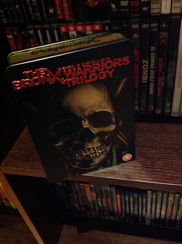 Bronx warrior trilogy steelbox (i guerrieri del bronx di Castellari) inedito in Italia