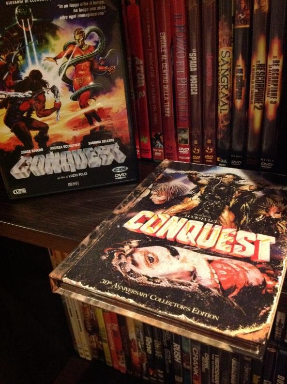 Versione italica e limited tedesca (audio ita) di Conquest